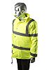 RS PRO Yellow Men's S Waterproof Polyester Hi