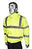 RS PRO Yellow Men's S Waterproof Polyester Hi