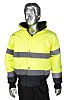 RS PRO Navy/Yellow Men's S Waterproof Polyester Hi