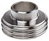 RS PRO Stainless Steel Solder Fitting Straight, 23mm