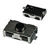 C & K KSR221G LFS Taster, 1-poliger Schließer, 50 mA @ 32 V dc, 6 x 3.8 x 2.5mm, SMD
