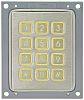 Apem IP65 12 Key Stainless Steel Keypad