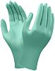 Ansell Green Neoprene Disposable Gloves size 10 -