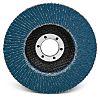 3M 566A Zirconia Aluminium Flap Disc, 115mm, Fine