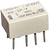 Omron DPDT PCB Mount Latching Relay - 1