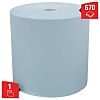 Kimberly Clark Roll of 750 Blue Wypall L40