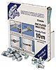 Jubilee 100 Piece Stainless Steel Bolt Drive Hose Clip Kit