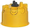 Legrand Batibox Yellow Plastic Back Box, NF, IP00,