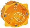 Legrand Batibox Yellow Plastic Back Box, NF, IP00,
