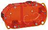 Legrand Batibox Orange Plastic Back Box, NF, IP00,
