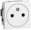 Legrand White 1 Gang Plug Socket, 16A, Type