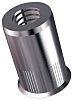8.7mm Plain Stainless Steel Blind Rivet, 6mm Diameter,