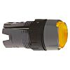 Schneider Electric Illuminated Flush Yellow Push Button Head
