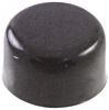 Black Push Button Cap, for use with CFPA