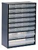 Raaco 28 Drawer Storage Unit, Steel, 417mm x