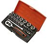 SBSL25 25 Piece Socket Set, 1/4 in Square Drive