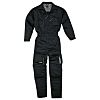 Delta Plus Black Reusable Overall, M