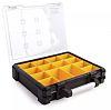 Stanley 14 Cell Transparent aluminium, Adjustable Compartment