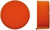 Orange Push Button Cap, for use with Push Button Switch, Cap