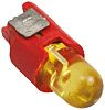 Yellow Push Button LED Light for use with
