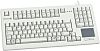 Cherry Touchpad Keyboard Wired USB Compact, QWERTZ Grey