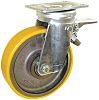 Guitel Braked Swivel Swivel Castor, 700kg Load Capacity,