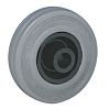 Guitel Rubber Trolley Wheel, 80kg