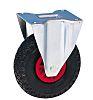 Guitel Fixed Castor Wheel, 200kg Load Capacity, 260mm