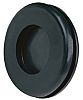 Richco Black PVC 20mm Round Cable Grommet for