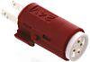 LED Reflector Bulb, Red, 24 V dc