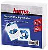 CD-ROM Paper Sleeves 100 white