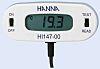 Digitální teploměr Mrazák, lednice HI147-00, přesnost: ±0,3 °C Celsius, Fahrenheit, Kuchyňský spotřebič, typ baterie:
