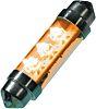 LED Car Bulb 43 mm Yellow 12 V