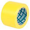 Advance Tapes AT8 PVC Markierungsband Gelb Typ Bodenmarkierungsband, Stärke 0.14mm, 75mm x 33m