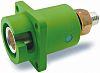 ITT Cannon, Veam Snaplock IP67 Green Panel Mount