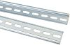 RS PRO, Slotted Din Rail, 2000mm x 35mm x 7.5mm