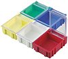 Licefa White ABS Compartment Box, 21mm x 56mm