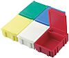 Licefa Yellow ABS Compartment Box, 21mm x 56mm