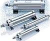 SMC Pneumatic Roundline Cylinder 10mm Bore, 60mm Stroke,