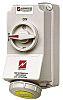MENNEKES Switchable IP44 Industrial Interlock Socket 2P+E,