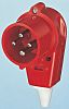 MENNEKES IP44 Red Cable Mount 4P Industrial Power