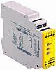 e Relé de seguridad Wieland 4 R1.188.1680.0 3, 1, 3, 2 canales, Automático, manual, supervisado, 24 Vac/dc, 114mm,