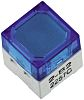 IP00 Blue Cap Tactile Switch, SPST-NO 50 mA