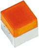 IP00 Yellow Cap Tactile Switch, SPST-NO 50 mA
