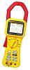 Fluke 345 Lakatfogó (Áramerősség, frekvencia, harmonikusok, kWh, teljesítmény, teljesítménytényező, feszültség) 1.4kA