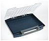 Raaco Grey PC, PP Compartment Box, 55mm x