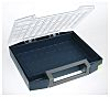 Raaco Grey PC, PP Compartment Box, 78mm x