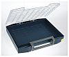 Raaco Blue PC, PP Compartment Box, 78mm x