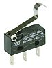 SPDT-NO/NC Simulated Roller Lever Microswitch, 10.1 A @