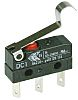 SPDT-NO/NC Simulated Roller Lever Microswitch, 6 A @